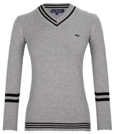 Paul Parker ženski pulover, siv, S