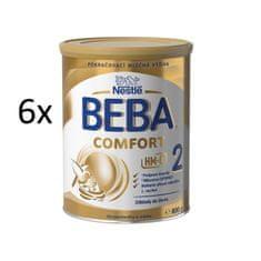 Nestlé 6 x BEBA COMFORT 2 HM-O 800g