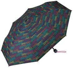 Esprit Damski Składany parasol z blue Supermini