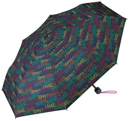 Esprit Női összecsukható esernyő táskávalSupermini blue