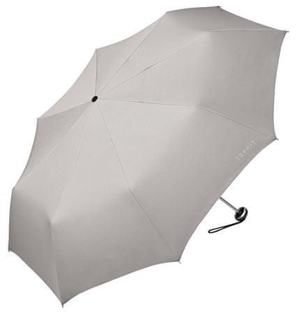 Esprit Női összecsukható esernyőMini Alu Light Mercury Grey