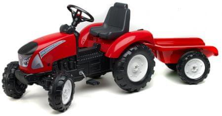 Falk Garden Master pedálos traktor utánfutóval