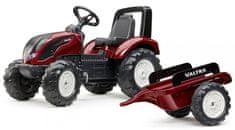 Falk Traktor šliapací Valtra s prívesom