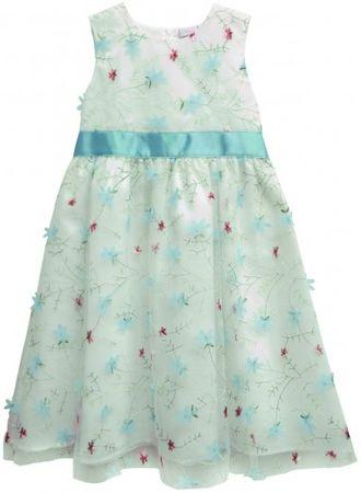 Topo sukienka dziewczęca ze wstążką 98 biała