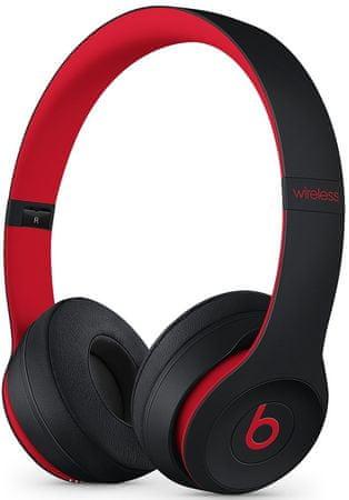 Beats słuchawki Solo3 Wireless, czarne/czerwone