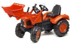 Falk Kubota pedálos traktor első markoló kanállal