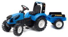 Falk Traktor šliapací Landini Serie 7 s prívesom