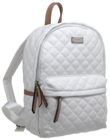 Bessie London dámský bílý batoh