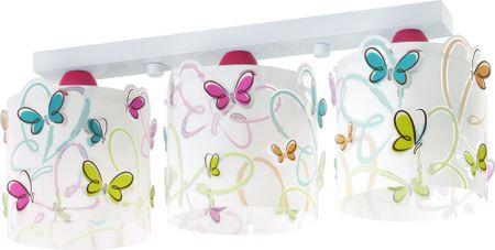 Dalber Lampa sufitowa dla dzieci Motylki 62143