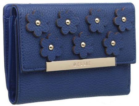 Bessie London dámská tmavě modrá peněženka