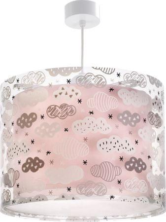 Dalber Rózsaszín felhőcskék függő lámpa gyerekeknek 41412S