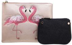 Bessie London rózsaszín női táska