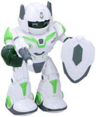 Teddies Robot chodící a otáčecí s doplňky 20cm