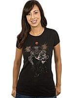 Női póló Witcher (vaják) - Fiend Forest (amerikai méret. M/európai L)