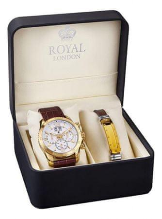 Royal London sada hodinek s náramkem 41271-03-SET