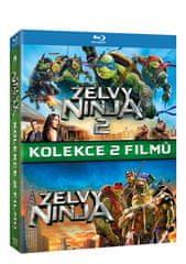 Želvy Ninja - Kolekce 1+2 (2BD) - Blu-ray
