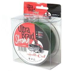 Hell-Cat Splétaná Šňůra Ultra Braid Strong Zelená 250 m