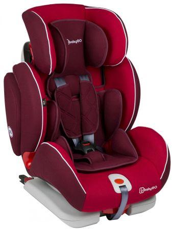 BabyGO Autosedačka SIRA Isofix Group I-II-III Red