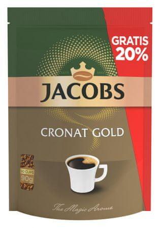 Jacobs Cronat Gold (refill), 75 g +15 g