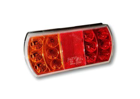 Golm LED luč, leva, za prikolico, 12V