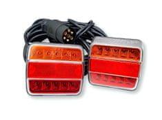 Golm set LED svjetiljki, 2kom, magnet + kabel 7,5x2,5m