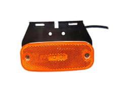 Golm LED svjetiljka, pozicijska, žuta, 12V/24V