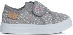 D-D-step lány textil sportcipő