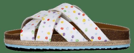 PAEZ klapki damskie Sandal Cross Aquarela 38 biały