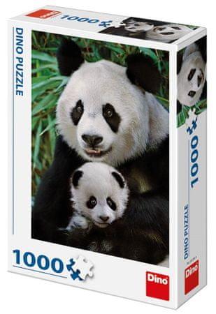 DINO Panda család 1000 darab