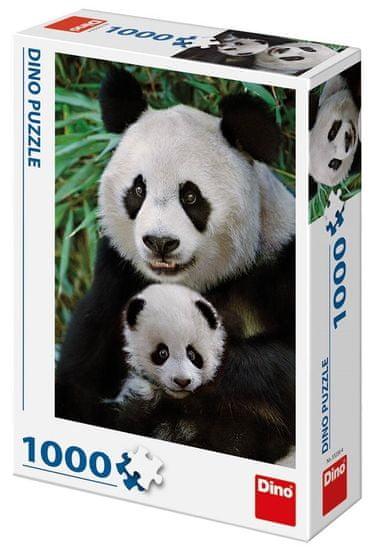 Dino Pandí rodina 1000 dílků