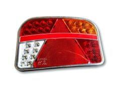 Golm LED luč, s trikotnikom, desna, 12/24 V