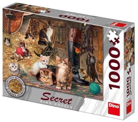 DINO Macskák Secret collection 1000 darab