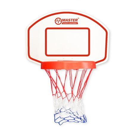 Master basketbalový koš s deskou 60 x 42 cm