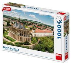 Dino Kutná Hora Dron collection 1000 dílků