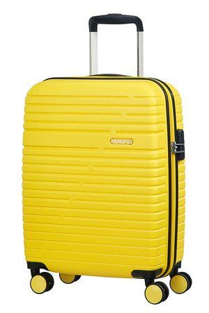 American Tourister potovalni kovček Aero Racer, 55 cm, rumeni