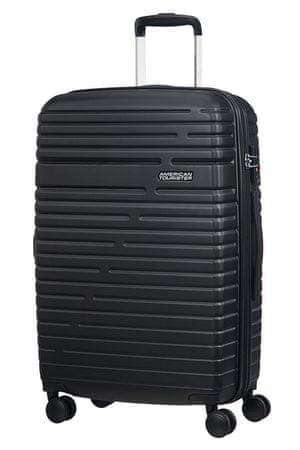 American Tourister potovalni kovček Aero Racer, 68 cm, črni