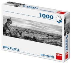 DINO Vízköpő Párizsban Panoramic 1000 darabos