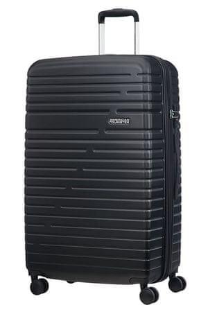 American Tourister potovalni kovček Aero Racer, 79 cm, črni