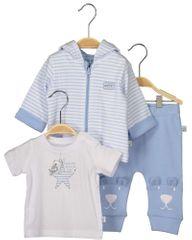 Blue Seven chlapčenský trojkomplet trička, mikiny a teplákov