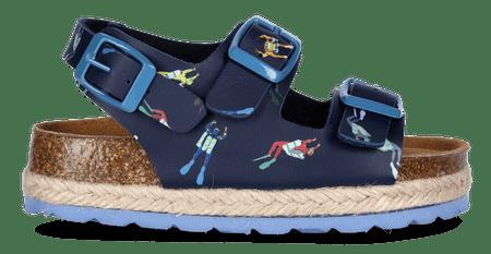 PAEZ chlapecké sandále Bio Congo divers 26 modrá