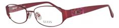 Guess ženski okvir za očala, rdeč