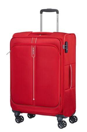 Samsonite Cestovná batožina Popsoda 66 cm červená