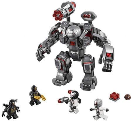 LEGO Super Heroes 76124 War Machine u robotskoj odjeći