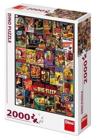DINO Film plakát 2000 részes