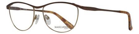 Guess oprawki do okularów damskie, brązowe