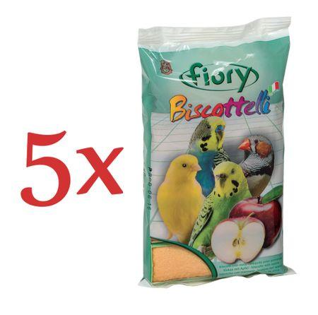 Fiory biskvit za ptice, jabolko, 5 x 35 g