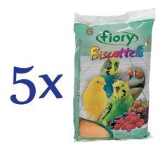 Fiory biskvit za ptice, gozdni sadeži, 5 x 35 g