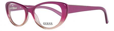 Guess dámské fialové brýlové obroučky
