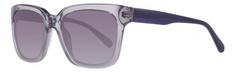 Guess fioletowe okulary przeciwsłoneczne Unisex