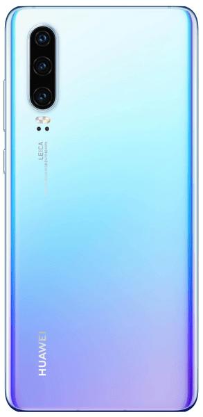 huawei P30 bluetooth 5.0 zasięg 10 m czytnik linii papilarnych obsługa kart 2 SIM